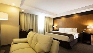 Quarto Jr Suite Hotel Urban Aeropuerto Ciudad de México Cidade do México