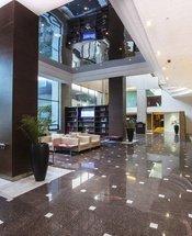 Recepção Hotel Urban Aeropuerto Ciudad de México Cidade do México