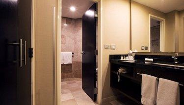 Casa de Banho Quarto Executivo Hotel Urban Aeropuerto Ciudad de México Cidade do México