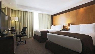 Quarto duplo standard Hotel Urban Aeropuerto Ciudad de México Cidade do México