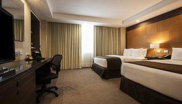 Quarto duplo executivo Hotel Urban Aeropuerto Ciudad de México Cidade do México